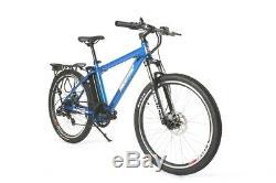 New X-Treme Trail Maker Elite 350 Watt 36 Volt Lithium Electric Bicycle Blue