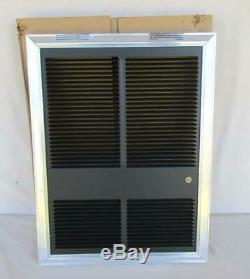 One Tpi Model Hf3326td-rp 208/240 Volt 3000/4000 Watt Wall Mount Heater New