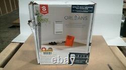 Orleans 12-11/16 in. X 15-11/16 in. 2000-Watt 240-Volt Bathroom Fan Heater