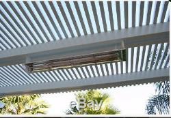Patio Heater Hanging Electric Infratec 3000 watt, 240 volt x 61 length