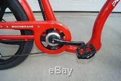Pedego Boomerang Plus Pedal Assist 48 Volt 500 Watt 7 Sp Shimano Electric Bike