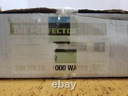 Perfectoe 1000 Watt 240 Volt Fan Forced Under Cabinet Electric Heater Black Best