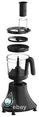 Preethi Zodiac Cosmo MG 236 Mixer Grinder 750-Watt, 5 Jars, 220-240-Volt (Black)