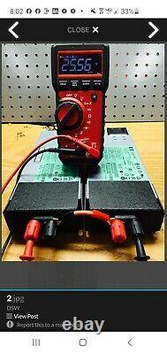 RC Power Supply 12 Volt, 24 Volt, DC 75A (1800 watt) withY AC Power Cord