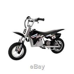 Razor MX400 24 Volt 350 Watt Dirt Rocket Electric Motorcycle Bike, Black (Used)