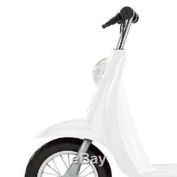 Razor Pocket Mod Mini Euro 24 Volt 250 Watt Electric Scooter, White (Open Box)