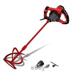 Rubi Mortar Grout Mixer 120-Volt 1200-Watt 2-Speed Gearbox Key Chuck Included