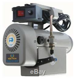 Sewing Machine Electric Servo Motor Adjustable Speed 110 Volt 550 Watt 3/4 HP