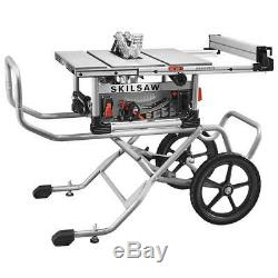 Skil Saw SPT99-11 120-Volt 10-Inch 1800 Watt Corded Worm Drive Table Saw withStand