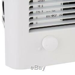 Small Room Heater White Indoor Wall Mount Automatic Shutoff 2000 Watt 240 Volt