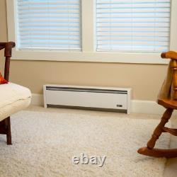 SoftHeat 35 in. 500-Watt 120-Volt Non Toxic Hydronic Electric Baseboard Heater