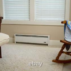 SoftHeat 59 in. 1000/750-Watt 240/208-Volt Hydronic Electric Baseboard Heater