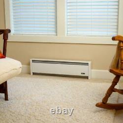 SoftHeat 71 in. 1250-Watt 120-Volt Hydronic Electric Baseboard Heater