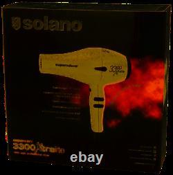 Solano 1761768 SuperSolano 3300 Xtralite 1800 Watt 110 Volt Hair Dryer