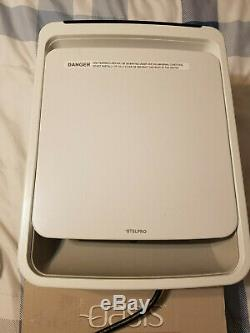 Stelpro ASOA1501W 1500 Watt 120 Volt White OASIS Bathroom Fan Heater With Integr