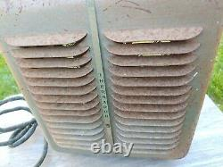 Thermador Electric Fan Heater 1320 Watts 50/60 cyc. 115 volts working