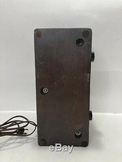 Vintage Western Electric 100f Loud Speaker 105-125 Volts -0.4 Amps 50 Watts